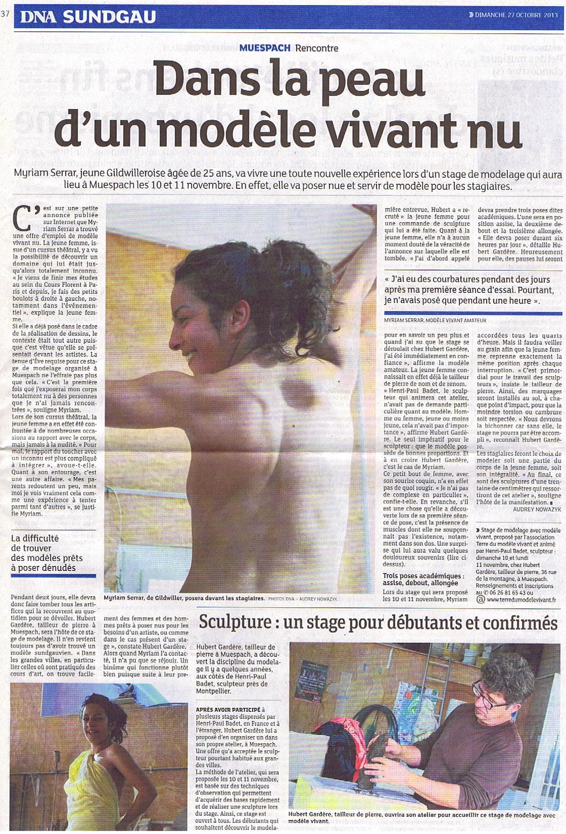 Presse - 27 octobre 2013