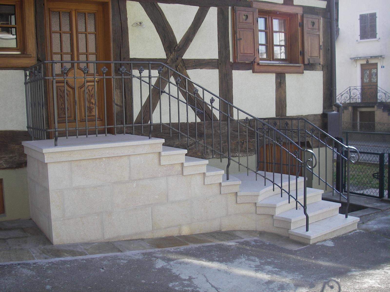 Escalier 2 seuils
