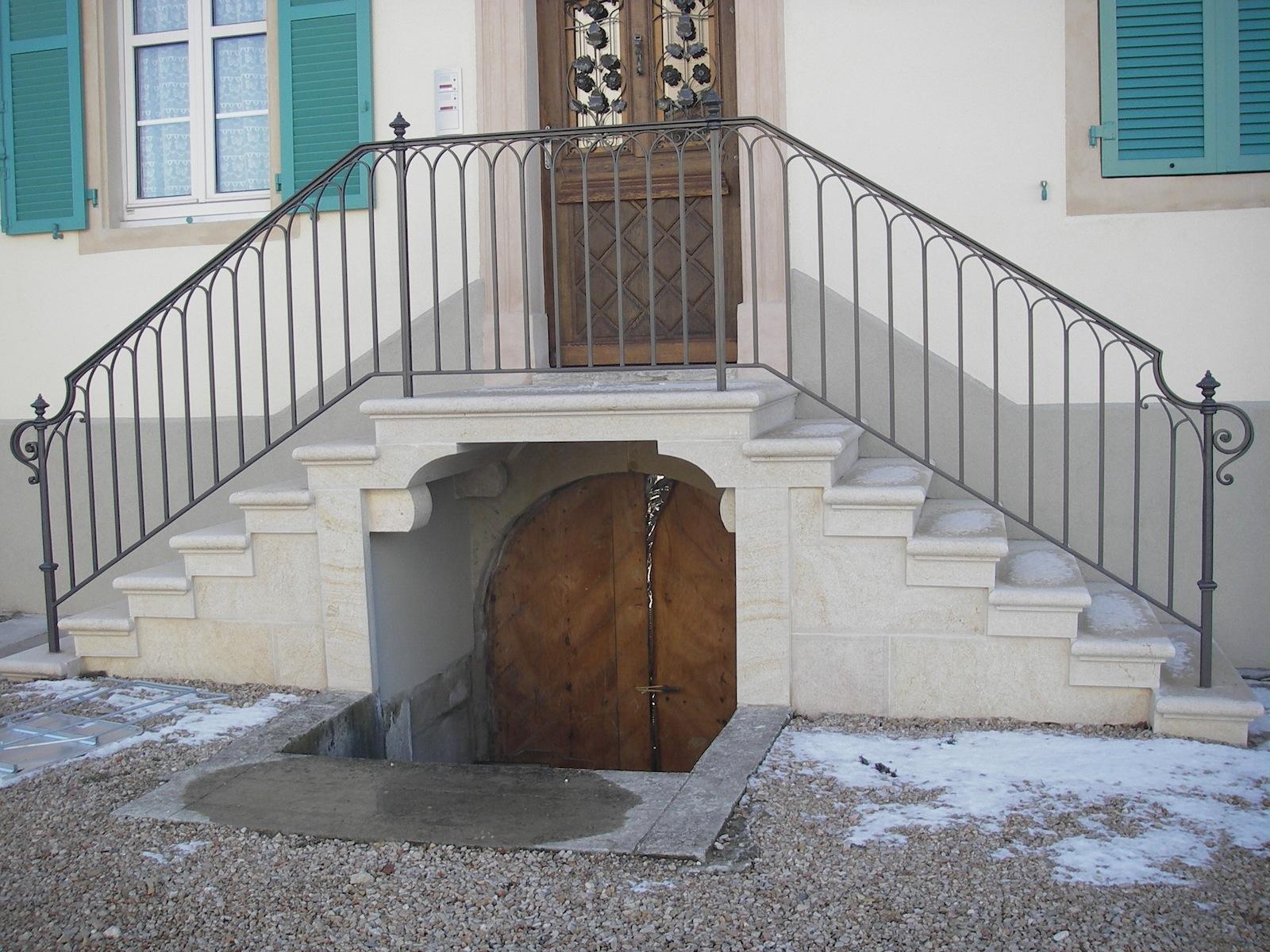 Escalier presbyter