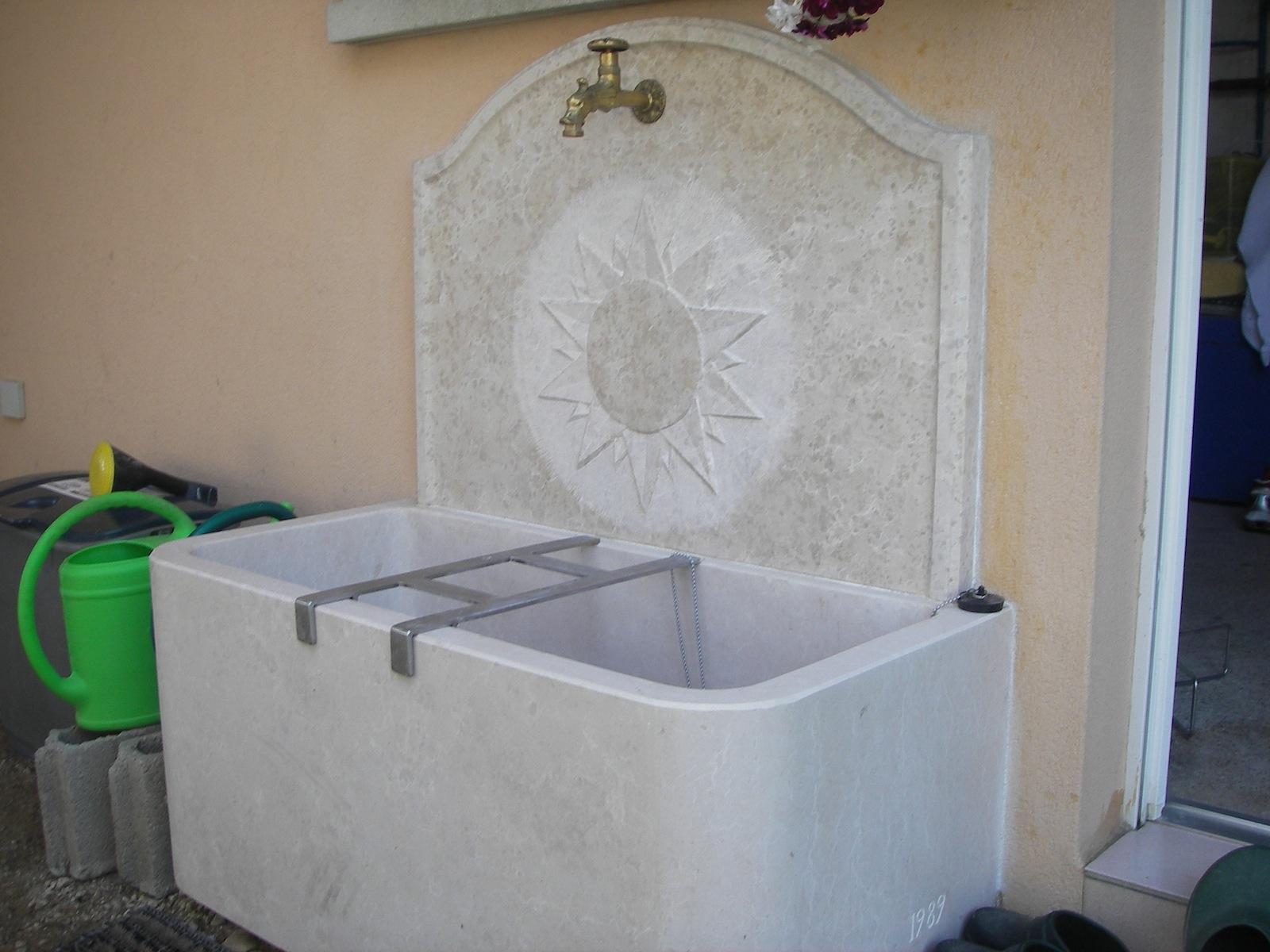 Fontaine soleil