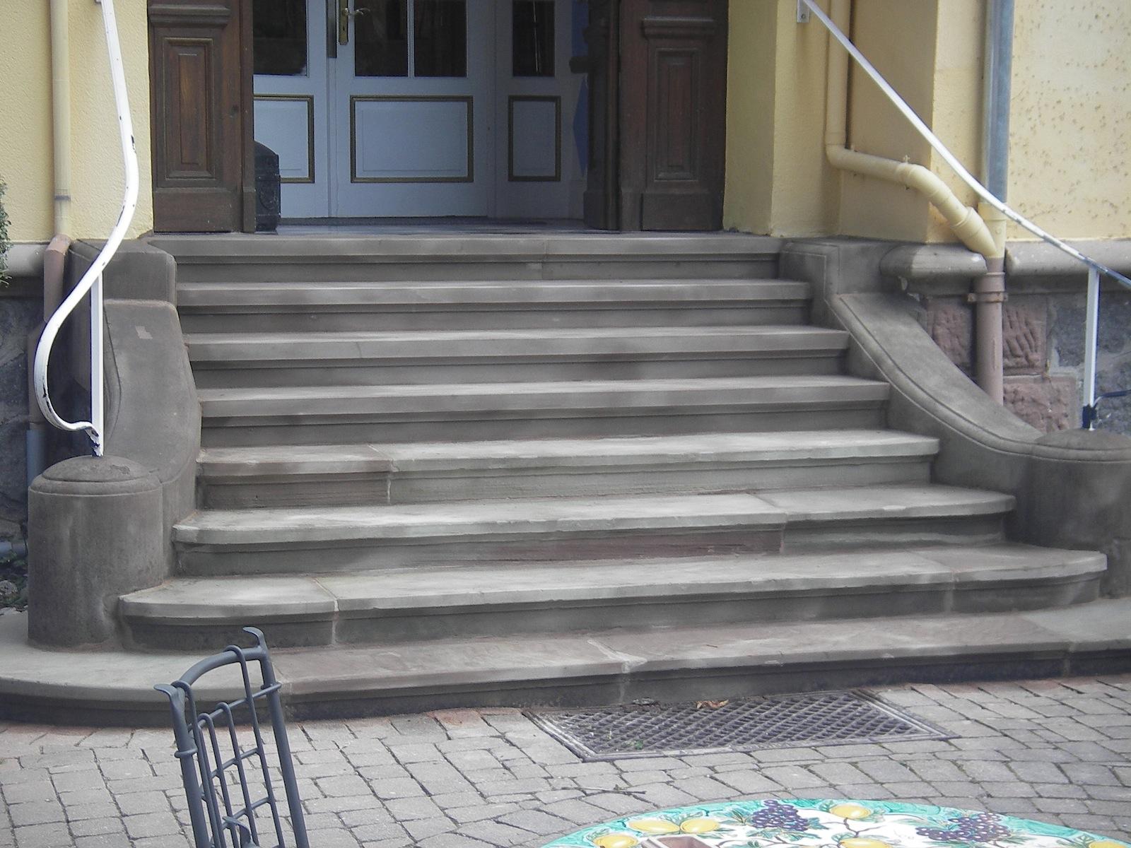 Renovation escalier apres