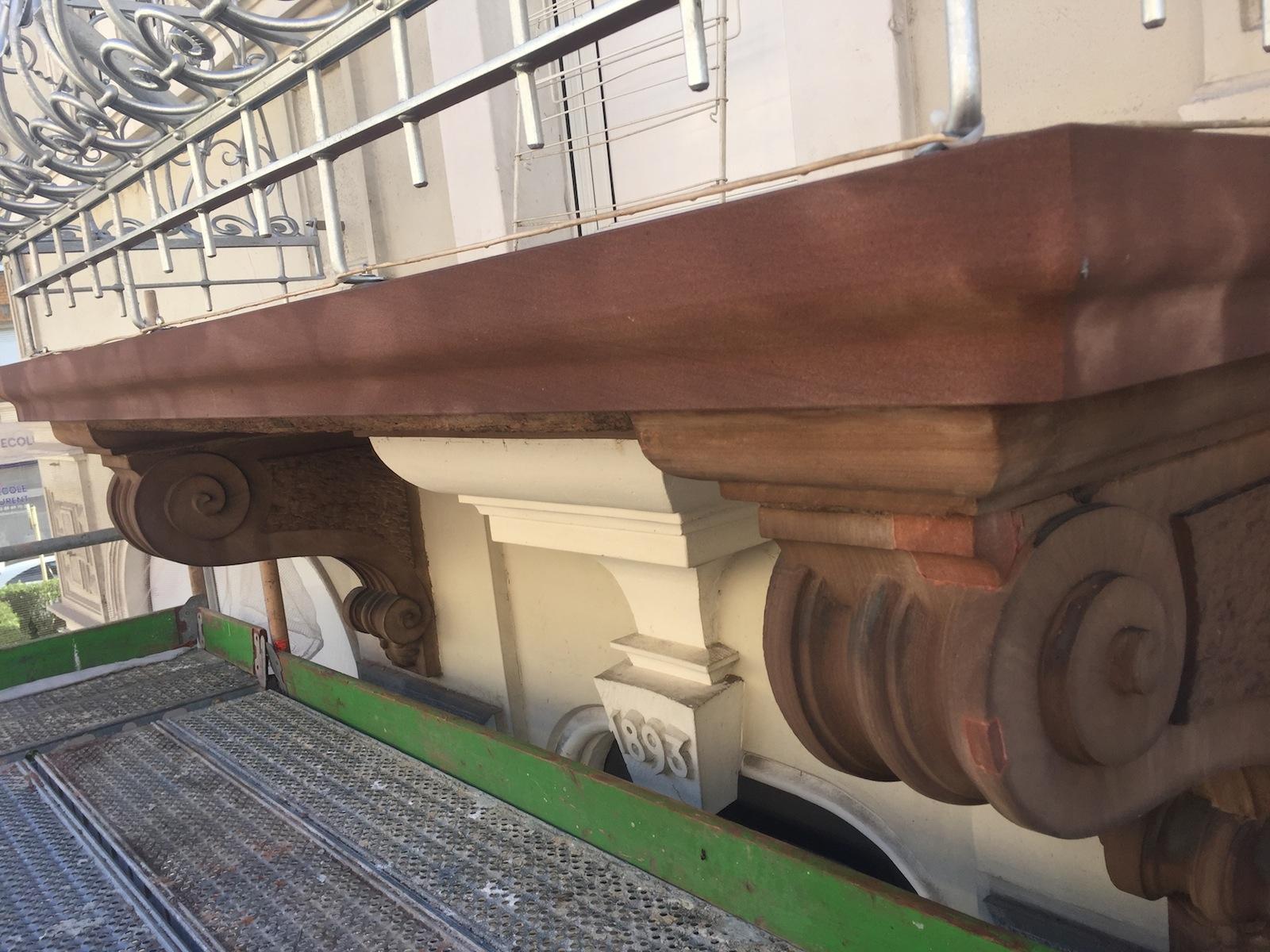 Restauration balcon