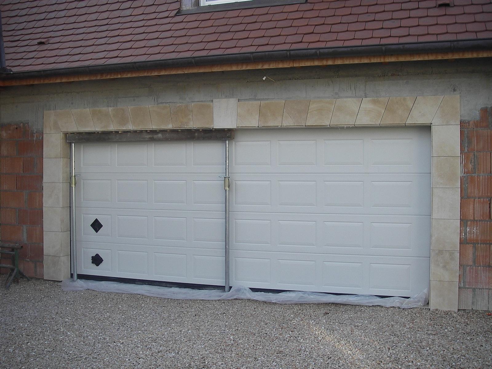 encadrement de garage