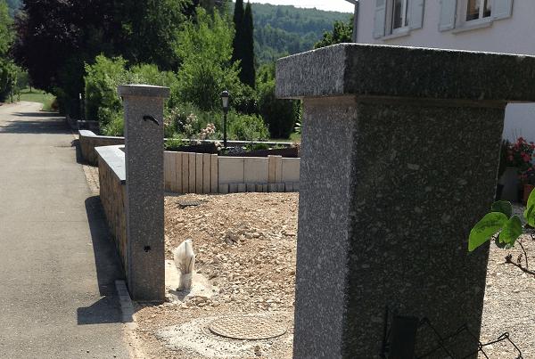 Pilier en Granit